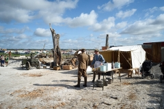 The WW1 area at the 2019 Great Dorset Steam Fair.