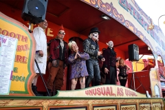 Dr Haze's Freak Show at the Great Dorset Steam Fair.