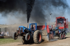 Tractor pulling at the Great Dorset Steam Fair.