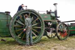Jimmy, the traction engine. At the 2019 Great Dorset Steam Fair.