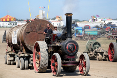 Traction engines at the 2019 Great Dorset Steam Fair.