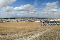 View from 'Michael Oliver Hill' over the Great Dorset Steam Fair.