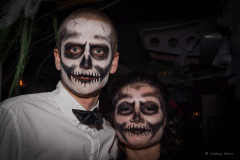 Halloween party at the Bermuda Triangle (BT), Lower Parkstone, Poole.