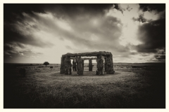 'Woodhenge', Worth Matravers, Dorset. 2016.