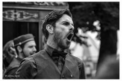 Larmer Tree Festival 2016. Street theatre.