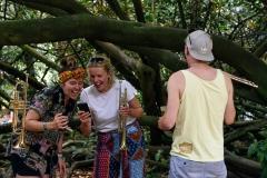 'Broken Harmony', Lostwood, Larmer Tree Festival 2018.