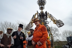 9. Will Coleman & some of the Man Engine team, Radstock, 6th April 2018.
