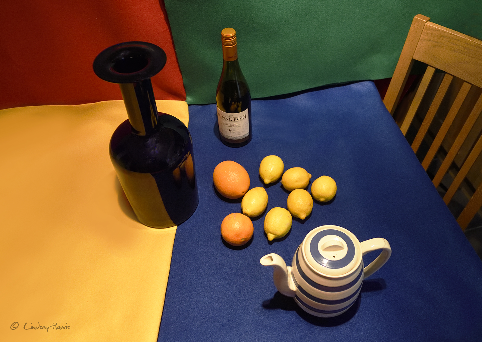⇡ Matisse style still life photograph