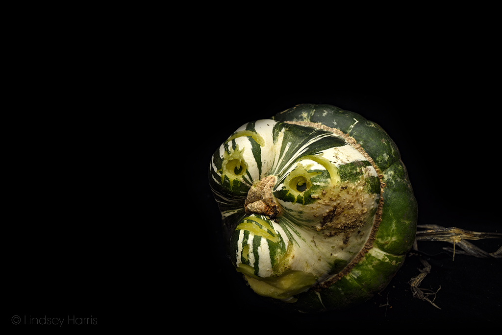 Gourd carving.